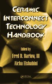 Cover of: Ceramic Interconnect Technology Handbook |