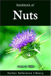 Cover of: Handbook of nuts