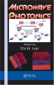 Cover of: Microwave Photonics | Chi H. Lee