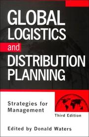 Cover of: Global Logistics and Distribution Planning