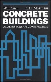 Cover of: Concrete buildings