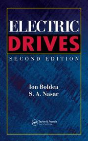 Electric drives by I. Boldea