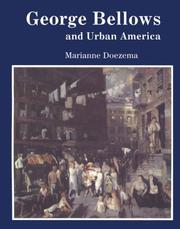 Cover of: George Bellows and urban America