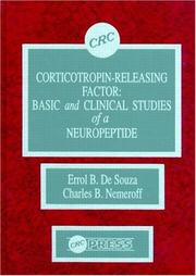 Cover of: Corticotropin-releasing factor