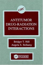 Antitumor Drug Radiation Interactions