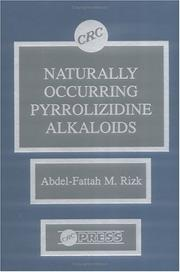 Cover of: Naturally occurring pyrrolizidine alkaloids |
