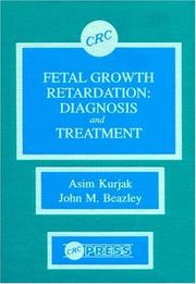 Cover of: Fetal Growth Retardation: Diagnosis and Treatment