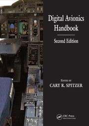 Cover of: Digital Avionics Handbook, Second Edition - 2 Volume Set | Cary R. Spitzer