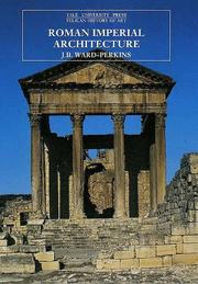 Cover of: Roman Imperial Architecture