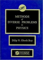 Cover of: Methods of inverse problems in physics | Dilip N. Ghosh Roy