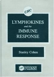 Cover of: Lymphokines and the immune response |
