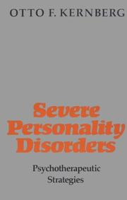 Cover of: Severe Personality Disorders | Otto Kernberg