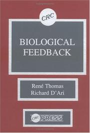 Cover of: Biological feedback