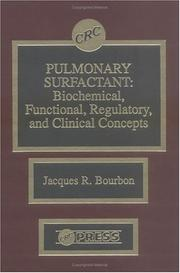 Cover of: Pulmonary surfactant |