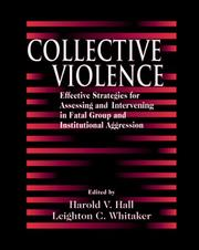 Cover of: Collective Violence | Harold V. Hall