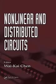 Cover of: Nonlinear and Distributed Circuits