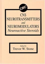 Cover of: CNS neurotransmitters and neuromodulators |