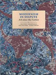 Cover of: Modernism in dispute |