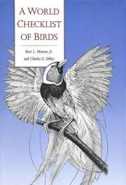 Cover of: A world checklist of birds