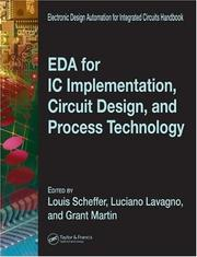 Cover of: EDA for IC implementation, circuit design, and process technology |
