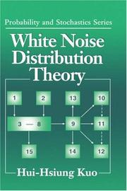 Cover of: White noise distribution theory