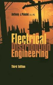 Cover of: Electrical Distribution Engineering