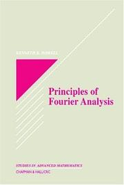 Principles of Fourier Analysis