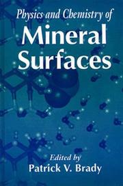 Cover of: Physics and chemistry of mineral surfaces |