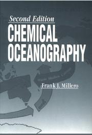 Cover of: Chemical oceanography. | Frank J. Millero