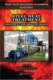 Cover of: Steel Heat Treatment