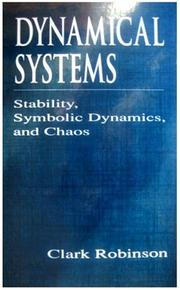 Cover of: Dynamical systems