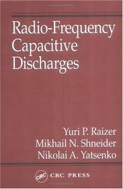 Radio-frequency capacitive discharges by Raĭzer, I͡U︡. P.