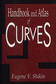Cover of: Handbook and atlas of curves
