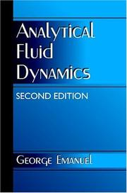 Cover of: Analytical fluid dynamics | George Emanuel