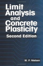 Cover of: Limit Analysis and Concrete Plasticity, Second Edition (New Directions in Civil Engineering)