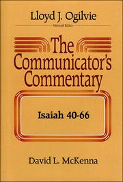 Cover of: Isaiah 40-66 (Communicator's Commentary Ot)