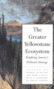 Cover of: The Greater Yellowstone Ecosystem | Robert B. Keiter