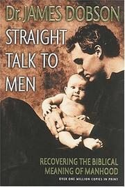 Cover of: Straight talk to men
