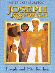 Cover of: Joseph, King of Dreams: My Sticker Storybook (Joseph King of Dreams)
