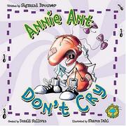Cover of: Annie Ant, don't cry!