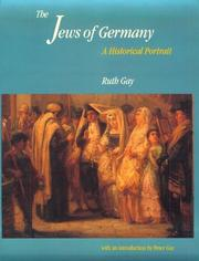 Cover of: The Jews of Germany