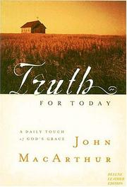 Cover of: Truth for Today by