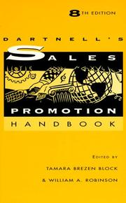 The Dartnells Sales Promotion Handbook by