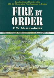 Cover of: Fire by order
