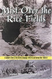 Cover of: MIST OVER THE RICE FIELDS | John Shipster