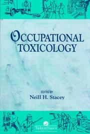 Cover of: Occupational toxicology |