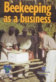 Cover of: Beekeeping as a business | Jones, Richard