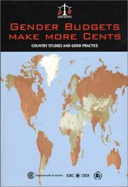 Cover of: Gender budgets make more cents