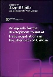 Cover of: The development round of trade negotiations in the aftermath of Cancún