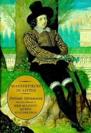 Cover of: Masterpieces in little portrait miniatures